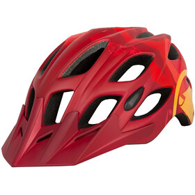 Endura Hummvee Bike Helmet red